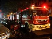 الحماية المدنية: الدفع بـ10 سيارات إطفاء لإخماد حريق شارع جامعة الدول