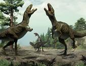 تشريح هيكل أول ديناصور برمائى عثر عليه فى حفرية جنوبى منغوليا