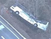مصرع شخصين وإصابة 27 آخرين فى انحراف حافلة عن الطريق ببولندا