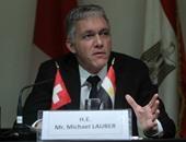 بالصور.. النائب العام السويسرى: نعمل على إرجاع الأموال المهربة لأصحابها الشرعيين