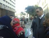النائب أحمد شمردن يعد عمال التشجير بحل مشكلتهم مع وزارة الزراعة