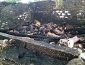السيطرة على حريق هائل نشب داخل حظيرة ماشية فى المنوفية