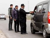 نشر سيارات الإغاثة على الطرق السريعة بسبب سقوط الأمطار