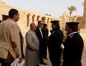 مدير أمن الأقصر يحدد 500 متر حرم آمن بمحيط المناطق الأثرية بالمحافظة