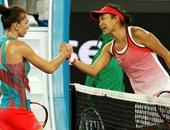لاعبة صينية تُقصى سيمونا هاليب من بطولة أستراليا المفتوحة للتنس
