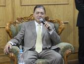 """وزير الصحة فى الغربية لزيارة ضحايا """"العمى"""".. غدا"""
