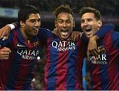 الأعلى دخلا فى العالم.. برشلونة يربط MSN بـ100 مليون يورو سنويا