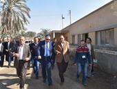 محافظ الفيوم يتفقد ميادين المحافظة لمتابعة آخر أعمال التطوير