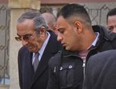 زكريا عزمى يصل محكمة جنايات القاهرة لحضور محاكمته بالكسب غير المشروع