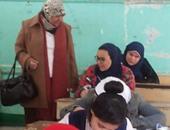 بالصور.. وكيلة تعليم القليوبية تتفقد امتحانات الإعدادية بشبرا الخيمة