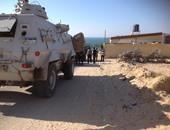 مقتل 33 إرهابيا فى مداهمات لقوات الأمن جنوب رفح والشيخ زويد