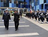 قائد القوات البحرية يصل مرفأ سان نازير بفرنسا لتسلم الميسترال الجديدة