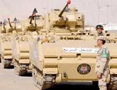 """بالصور.. عناصر من القوات المسلحة تسافر السعودية للمشاركة بتدريب """"رعد الشمال """""""