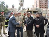 بالصور.. مدير أمن البحيرة يتفقد الخدمات الشرطية بشوارع دمنهور