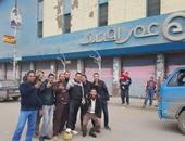 بالصور.. شباب كفر الدوار يتحدون دعوات الإخوان للتظاهر بمباريات الكرة بالميادين
