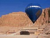 إلغاء رحلات البالون الطائر بسماء الأقصر بسبب رياح محملة بالأتربة