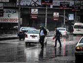 مرور الجيزة: كثافات مرورية بمحورى صفط اللبن وعرابى بسبب تراكمات الأمطار