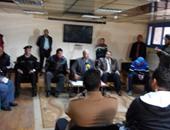 """بالصور.. محافظ الإسماعيلية يناشد اللاعبين بالحفاظ على اسم """"الدراويش"""""""