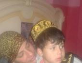 أهالى منطقة الحسين يحتفلون بعودة الطفل عبد الله المتغيب منذ أكثر من عام