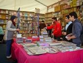 """""""هيئة الكتاب"""": زوار اليوم الثالث لمعرض الكتاب تجاوزوا الربع مليون"""