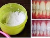 وصفة طبيعية مذهلة لتبييض الأسنان فى دقيقة واحدة