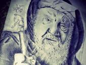 """قارئ يشارك """" صحافة المواطن"""" برسومات كاريكاتيرية وبورتريهات لنجوم عالمية ومصرية"""