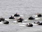 """استمرار فعاليات التدريب البحرى المشترك المصرى السعودى """"مرجان-16"""""""