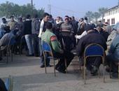 اعتصام العاملين بسنترال طنطا العمومى للمطالبة بزيادة الحافز والرعاية الصحية