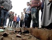وفاة مزارع دهسه قطار بضائع بمدينة كوم أمبو بأسوان