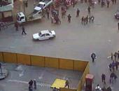 المرور تغلق ميدان النهضة اتجاه الجيزة ليلا لاستكمال إنشاء النفق