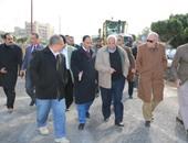 محافظة القاهرة: استمرار تطوير ميدان المطرية وكوبرى الحلمية