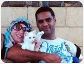 """""""الجوازة"""" فيها قطة.. قصص حقيقية لعشاق جمعهم حب القطط قبل سهم كيوبيد"""