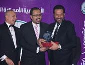 بالصور.. تكريم عمرو سعد وماجد المصرى وإيهاب توفيق من الأكاديمية الأمريكية الدولية