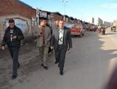 بالصور.. رئيس مدينة بلطيم بكفرالشيخ يتابع أعمال الحفر استعداد لتوصيل الغاز