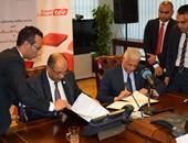 توقيع بروتوكول تعاون بين هيئة المساحة والمصرية للاتصالات