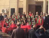البابا تواضرس يستقبل مدير أمن القاهرة والقيادات الأمنية بالكاتدرائية