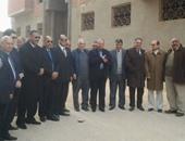 نائبا البرلمان بشمال سيناء يقدمان التهنئة لأسقف المحافظة بعيد الميلاد