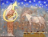"""ندوة ثقافية وحفل ختام معرض """"الحمار"""" للفنان رضا عبد الرحمن.. الأثنين"""