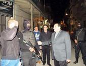 بالصور.. مدير أمن الإسماعيلية يتفقد الخدمات الأمنية على الكنائس بالمحافظة