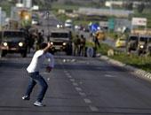 إصابة 50 مواطنا برصاص الاحتلال فى مسيرة غرب نابلس الفلسطينية