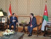 بسام راضى: الرئيس السيسى استقبل العاهل الأردنى الملك عبد الله الثانى