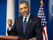 """بعد قليل.. كلمة للرئيس أوباما بشأن ضرب """"داعش"""" بسوريا"""