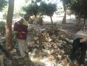 هيئة نظافة الجيزة ترفع 1000 طن قمامة من سوق الجملة بـ6 أكتوبر