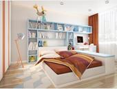 بالصور.. مكتبات أنيقة لغرفة أطفالك