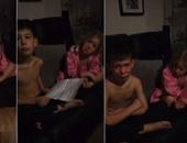 بالفيديو..  رد فعل طريف لأطفال بعد إقناعهم أنهم على القائمة السيئة لبابا نويل