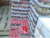 ضبط 9120 لتر خل و750 زجاجة صلصة غير صالحة للاستهلاك الآدمى بالقليوبية