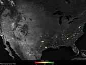 بالفيديو..ناسا تلتقط صورا لمدن مضيئة بالكريسماس وتقارنها بليالى رمضان