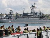 سفن حربية روسية تجري مناورات في البحر المتوسط