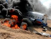 بالصور.. إدارة مطار مرسى علم تنفذ سيناريو إنقاذ ركاب طائرة منكوبة
