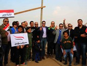 """مشاركة شعبية وفنية وإعلامية فى احتفالية """"مصريون ضد الإرهاب"""""""